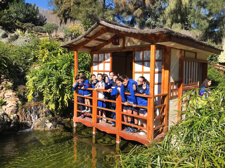 Visita al molino del inca for Jardin botanico torremolinos